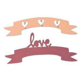 660826 Wykrojnik Sizzix - Love&Wishes 2 el.