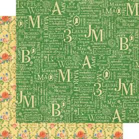 (4501654) Arkusz papieru Graphic 45 - 30x30cm