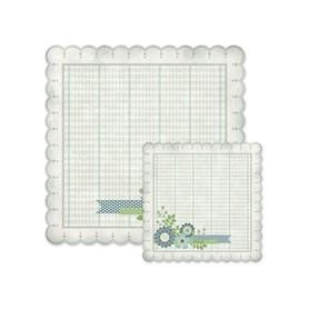 Arkusz papieru 30x30cm Winter frost paper notes