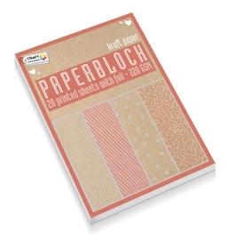 Zestaw papierów A4 - Kraft CR0817/GE