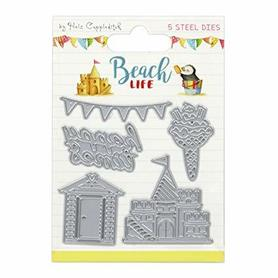 Wykrojnik Helz Cuppleditch Beach Life 5 el. (A4)