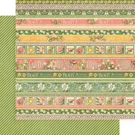 (4501750) Arkusz papieru Graphic 45 - 30x30cm
