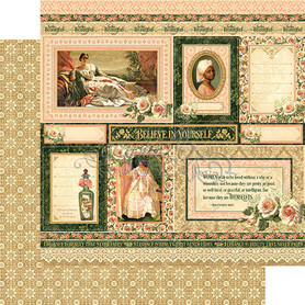 (4501497) Arkusz papieru Graphic 45 - 30x30cm