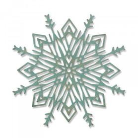 Wykrojnik Sizzix Thinlits Die Flurry #4 Śnieżynka