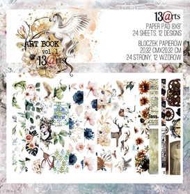 13arts Zestaw papierów 20x20cm ART BOOK vol. 1