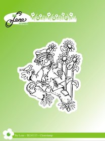 Stempel silikonowy By Lene Scarecrow 2 BLS1113