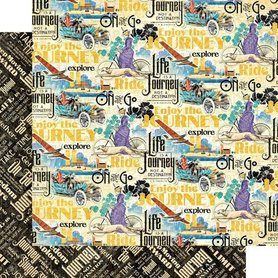(4501940) Arkusz papieru Graphic 45 - 30x30cm