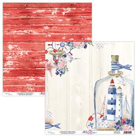 Papier MINTAY 30,5 cm x 30,5 cm Marina 03