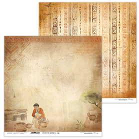Arkusz papieru LL 30x30cm - Colors of Africa 06