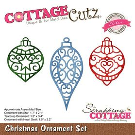 Wykrojnik - Christmas Ornament Set (CCE-508)
