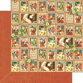 (4501404) Arkusz papieru Graphic 45 - 30x30cm