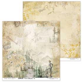 Arkusz papieru LL 30x30cm - Summer in Mountains 05