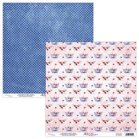 Papier MINTAY 30,5 cm x 30,5 cm Marina 05