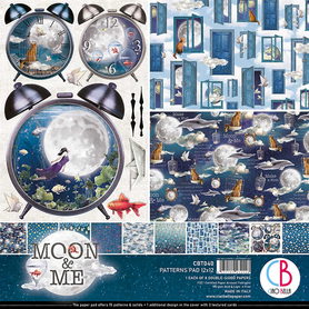 Zestaw 30x30 Ciao Bella Moon and Me 8ark CBT040