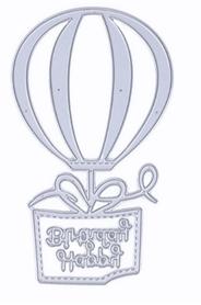 Wykrojnik Balon z napisem