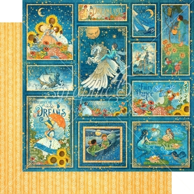 (4501928) Arkusz papieru Graphic 45 - 30x30cm