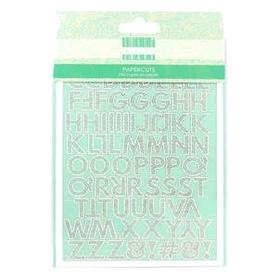 FEPPC007 Zestaw ozdób z papieru - Alfabet