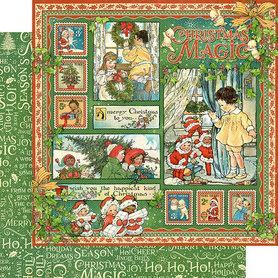 (4501726) Arkusz papieru Graphic 45 - 30x30cm