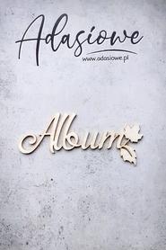 Tekturka napis jesienny Album (L41)