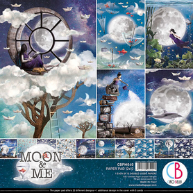 Zestaw 30x30 Ciao Bella Moon and Me 12ark CBPM040