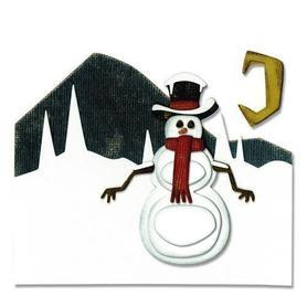 Wykrojnik Sizzix Snowman Scene 10 el.