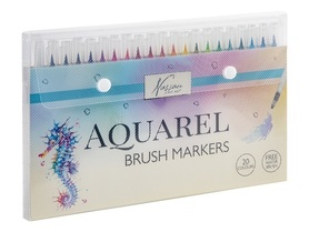 Zestaw Brush markers 20szt +1 water brush AR0511/GE