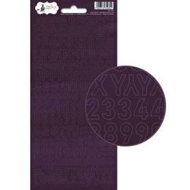P13-404 Arkusz naklejek z literkami