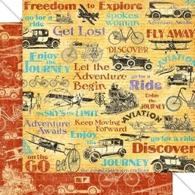 (4501944) Arkusz papieru Graphic 45 - 30x30cm