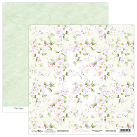Arkusz papieru SB 30x30cm - Flower Dreams 04