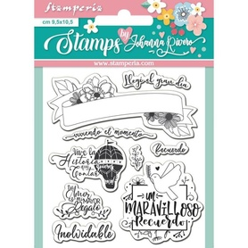 Stempel Stamperia Recuerdo Clear Stamps (WTKJR17)