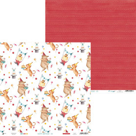 P13-412 Arkusz papieru Happy Birthday 05 - 30x30cm