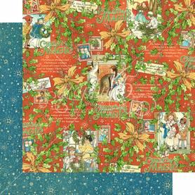 (4501732) Arkusz papieru Graphic 45 - 30x30cm