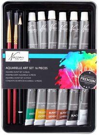 Zestaw 12 farb akwarelowych AR0500/GE + dodatki