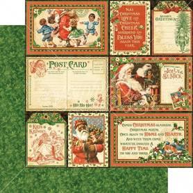 (4501401) Arkusz papieru Graphic 45 - 30x30cm