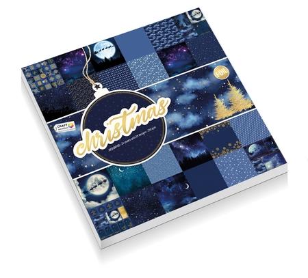 Zestaw papierów 30x30 - Christmas 1 CR0382K/20A (1)