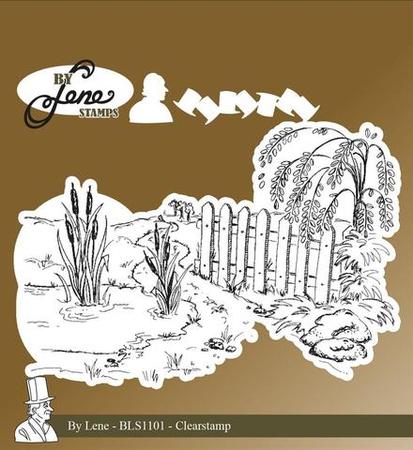 Stempel silikonowy By Lene Fairy Tale Scene-3 (BLS1101) (1)