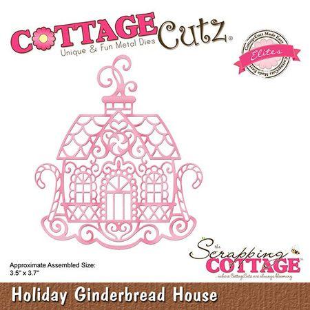 Wykrojnik Holiday Gingerbread House (CCE-517) (1)