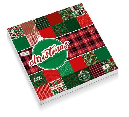 Zestaw papierów 30x30 - Christmas 2 CR0382K/20A (1)