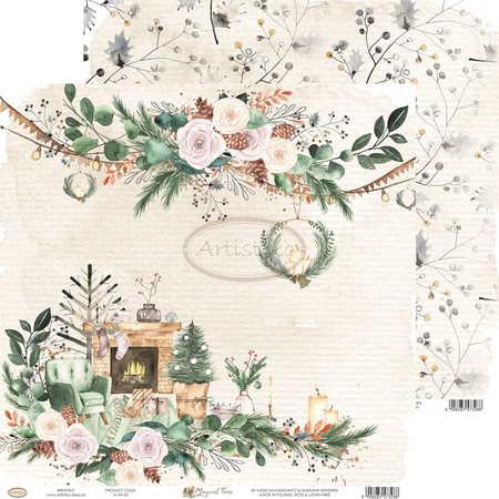 Arkusz papieru Artistiko 30x30cm - Magical Time 05 (1)