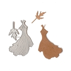 Wykrojnik Sukienka + listek (10-B4) (1)